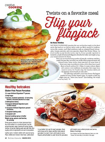 WE TEND TO PREPARE pancakes the way our families taught us; the short stacks that land on our kitchen tables today are likely steeped in tradition. Across the country, you'll find renditions such as cornmeal-based johnnycakes, banana pancakes and even pancakes shaped like Mickey Mouse. As drool-worthy as your favorite version may be, if your pancake repertoire is limited to a stack of buttermilk flapjacks drenched in butter and maple syrup, your mind is about to be blown. There are an ove...