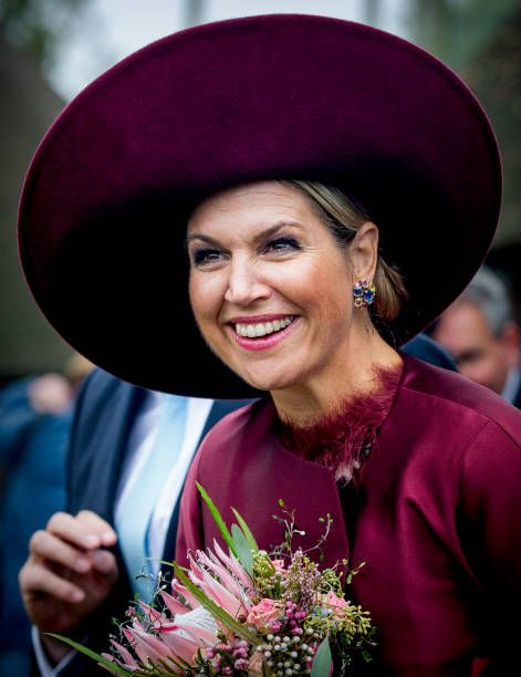 ♥•✿•QueenMaxima•✿•♥...King Willem and Queen Maxima visit the Eemland Region