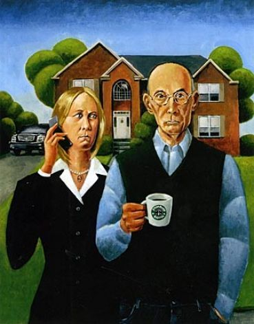 American Gothic American Gothic Parody And Gothic On