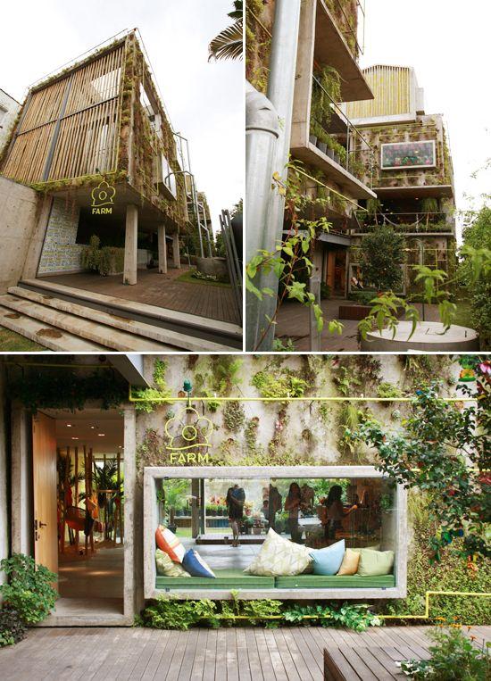 FARM - Brazilian fashion brand eco-store @Vila Madalena - Sao Paulo. Project by Trypitique