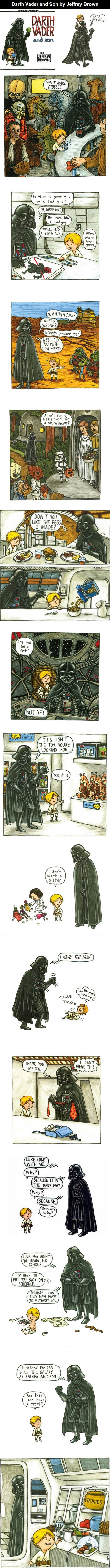 Adorable: Darth Vader and Son (Fav: this isn't the toy you are looking for!)