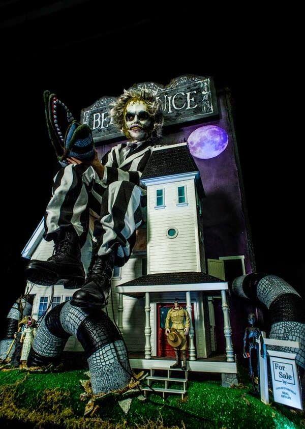 Galaxy Fantasy: Disfraz de Beetlejuice para para ir terrorificamente ideal en tu noche Halloween
