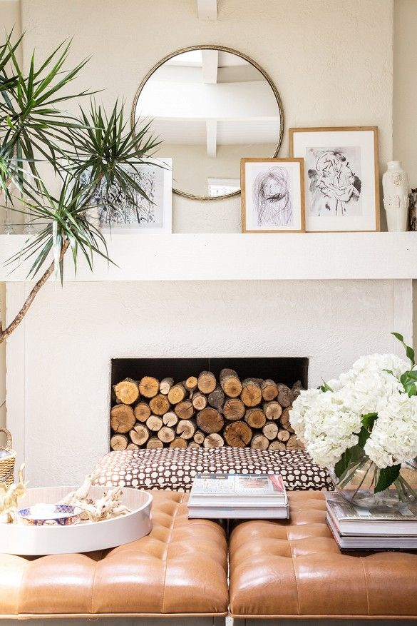 Fireplace Design mirror over fireplace : 52 best Living room images on Pinterest
