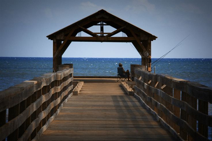 Waimea Recreation Pier in Waimea, Kauai, HI