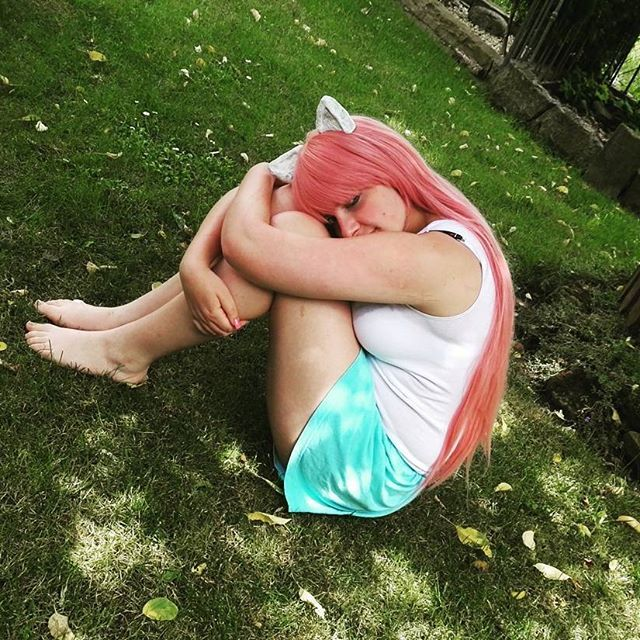 #elfenlied #lucy #nyu #cosplay #pinkhair
