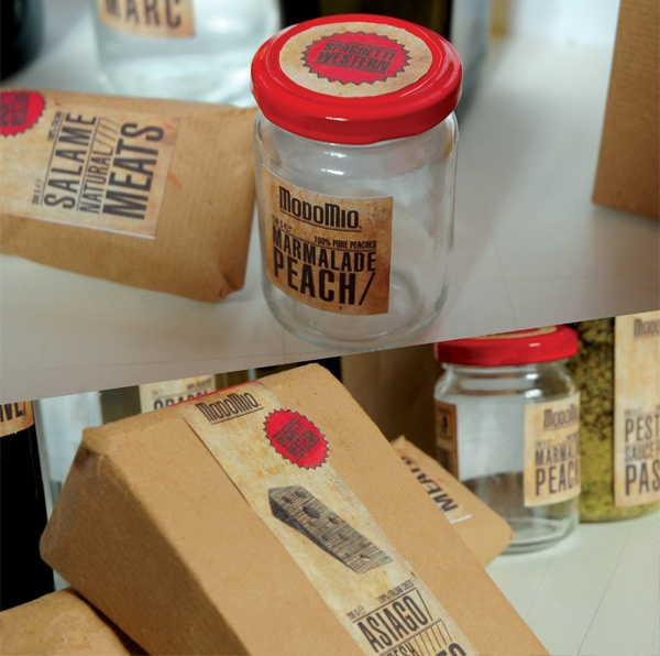 Modomio Packaging Design