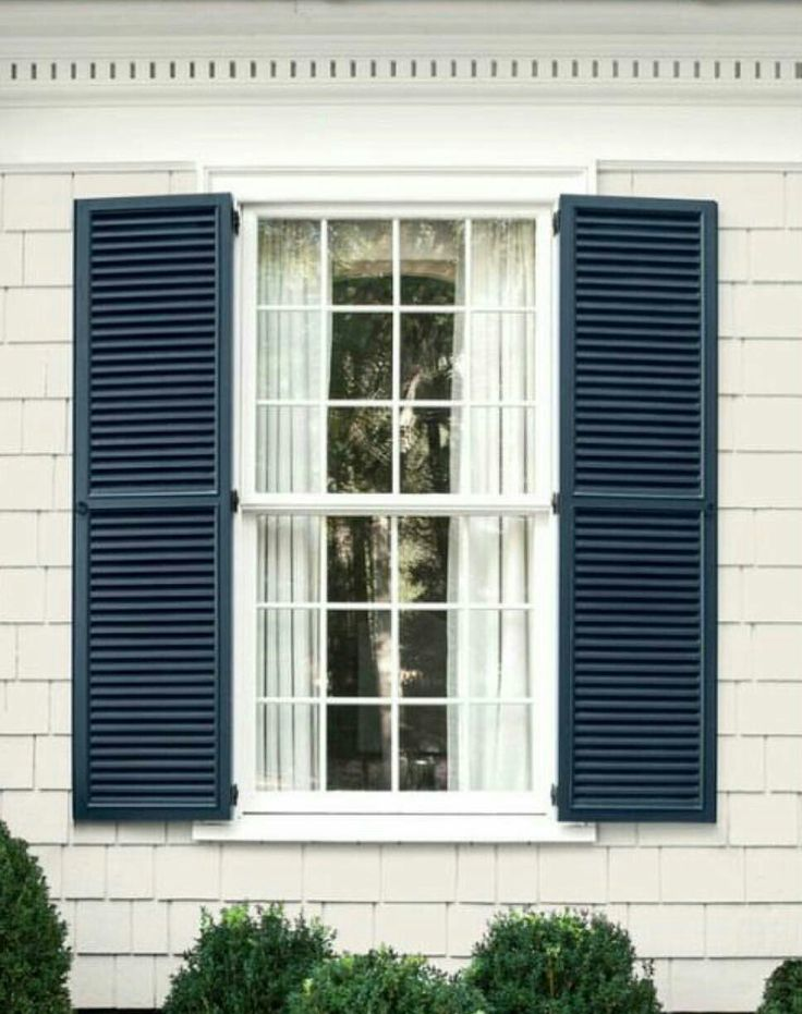 127 best Window Shutters images on Pinterest | Exterior homes ...