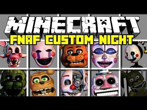 Minecraft AMAZING FIVE NIGHTS AT FREDDY'S MOD! | PLAY ULTIMATE