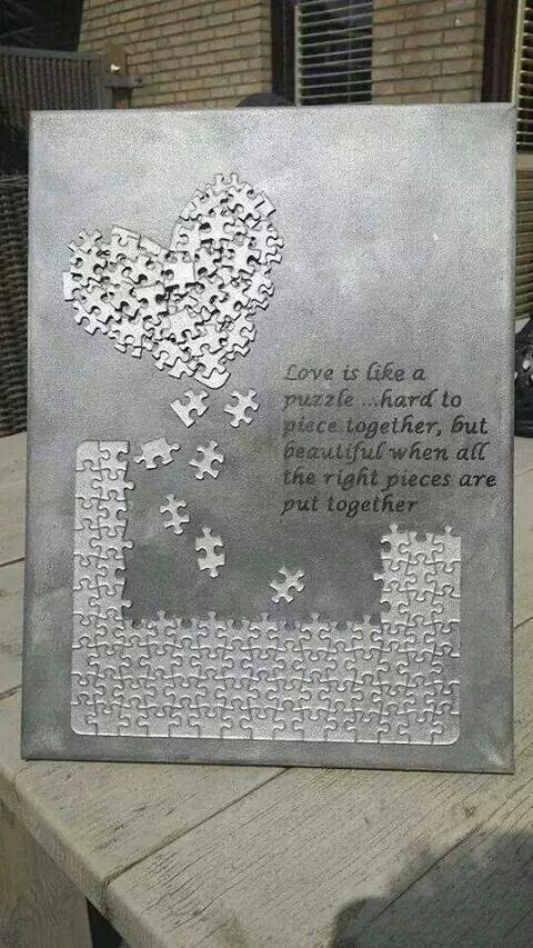 Puzzle canvas
