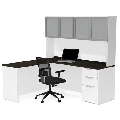 Best 25 Corner Desk With Hutch Ideas On Pinterest L