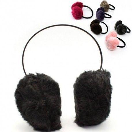 Kulaklarınızı Soğuktan Koruyan Peluş Kulaklık
