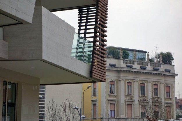 Milano CityLife Daniel Libeskind (ph. Milena Cressa, Le Moniteur .fr)