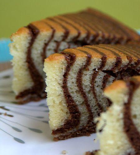 Tarta cebra, una tarta de cumpleaños sorprendente