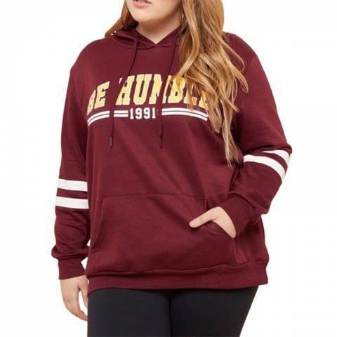 Plus Size Sweatshirts Women Clothing Autumn Hooded 4XL 5XL Big Size Stretchy - R... 1