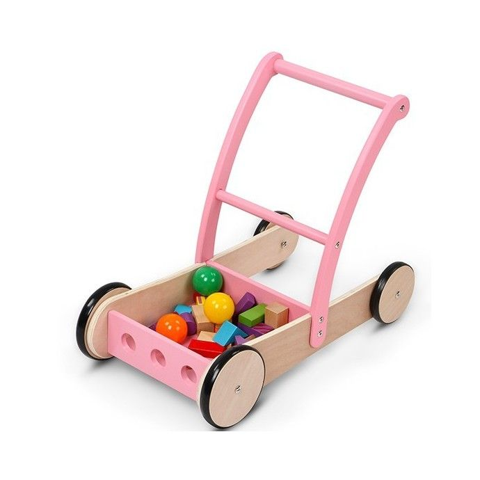 Kävelyavustin, 64,95 €. Loistava apuväline lapsen ensiaskeleista ensimmäisiin juoksuihin. Tuotetta voi käyttää myös myöhemmin leikeissä sisällä kottikärryinä tavarankuljetukseen. Vaunujen edessä olevaa tilaa voidaan käyttää säilytykseen. Renkaissa lattiaystävällinen päällyste. Ilmainen kotiinkuljetus! #kävelyavustin #lastenkävelyavustin