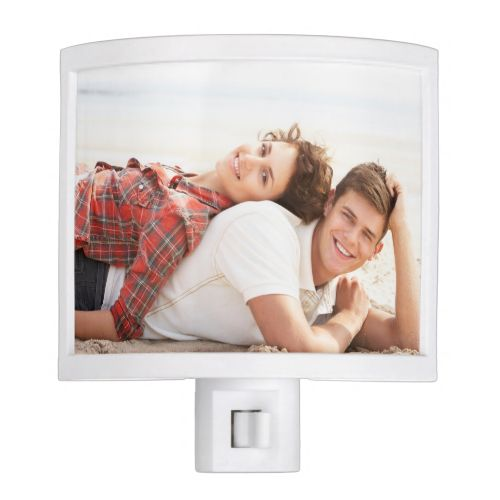 Personalized photo night light. Make your own!