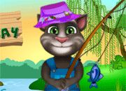 Talking Tom Fishing Day