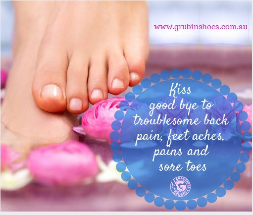 Kiss good bye to troublesome back pain, feet aches, pains and sore toes with Grubin shoes, does it sound too good to be true? Check it out by yourself ---> http://bit.ly/1vLQyAK #stylishorthopedicshoes #womenshoes
