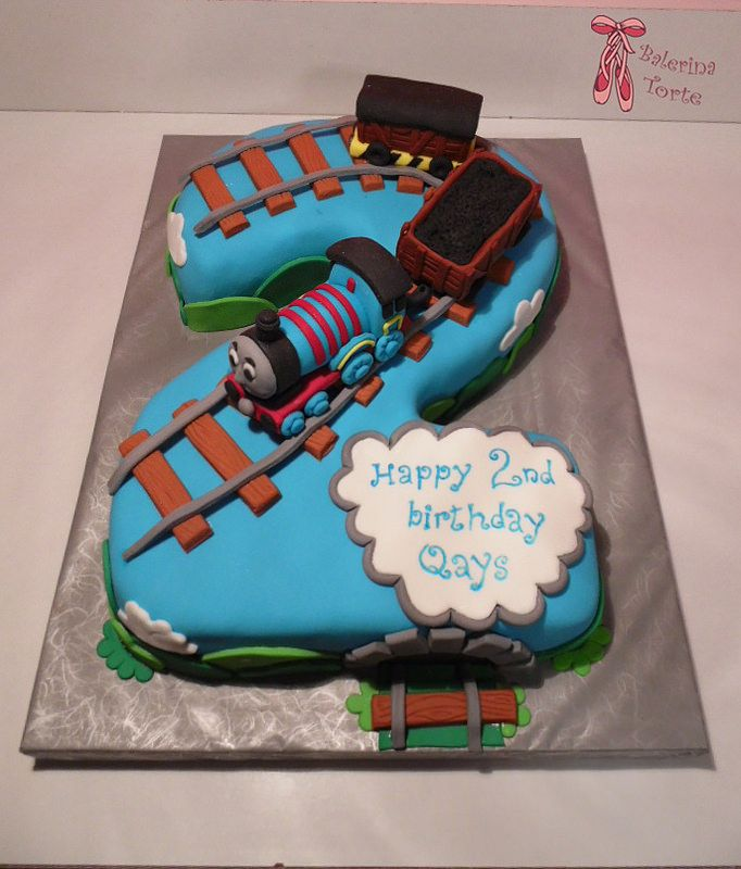 Thomas the Train Cake - Thomas and Friends Cake - Tomas torta - Tomas i prijatelji torta by Balerina Torte Jagodina