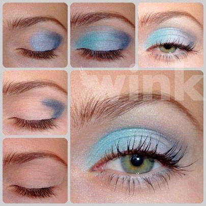 Nevyužívate z vašej palety bledomodré odtiene očných tieňov? Nechajte sa inšpirovať s wink. http://wink.sk/beauty/makeup/modra-inspiracia.aspx