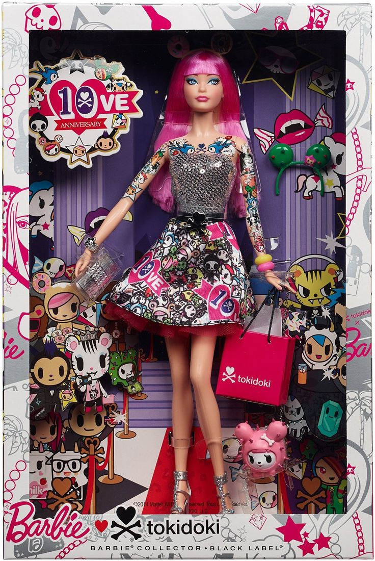 Barbie collector 10th anniversary tokidoki barbie doll barbie dolls shops and christmas - Barbie barbie barbie barbie barbie ...