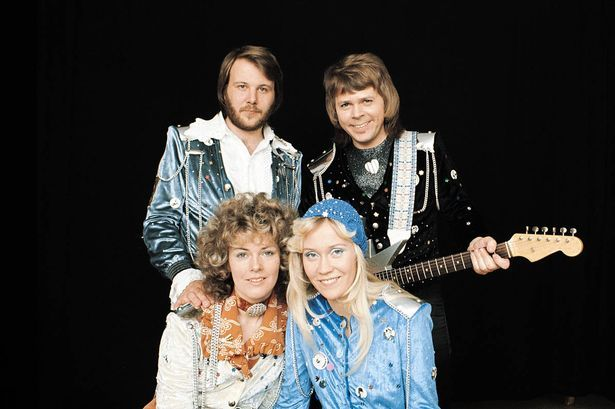 Heyday: ABBA wrote many a hit on the piano
