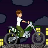Ben10 bike trip is a trip with ben10 on a bike . Will you complete all 10 levels?Be very careful and you can win every stage. Collect alien balls to increase your score