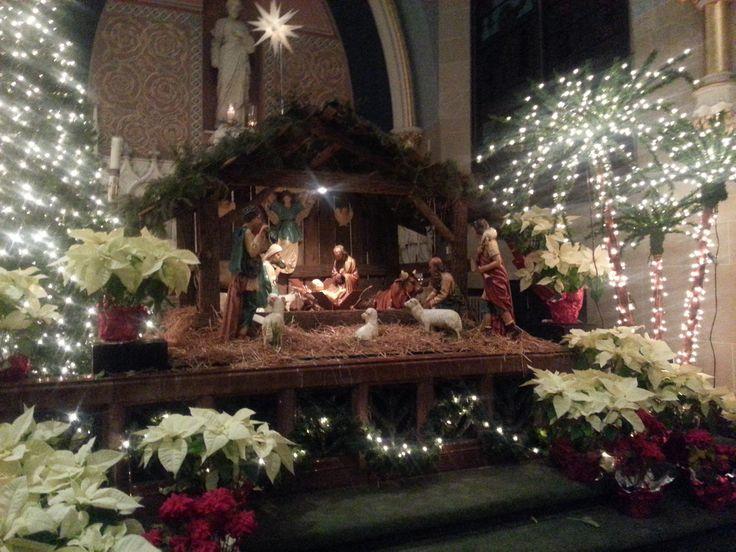 St. Patrick's Catholic Church, Beaver Street, York, PA, Christmas 2012 Photo by Kathy Spagnola