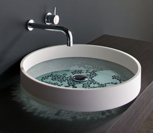 Unusual Bathroom Basins By Omvivo Motif And KL Fixtures Fittings Pint