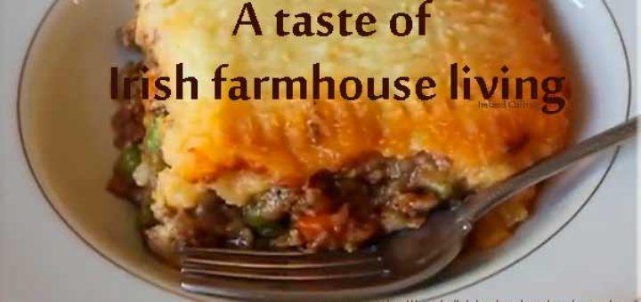 Irish Shepherd's Pie recipe. Image copyright Ireland Calling
