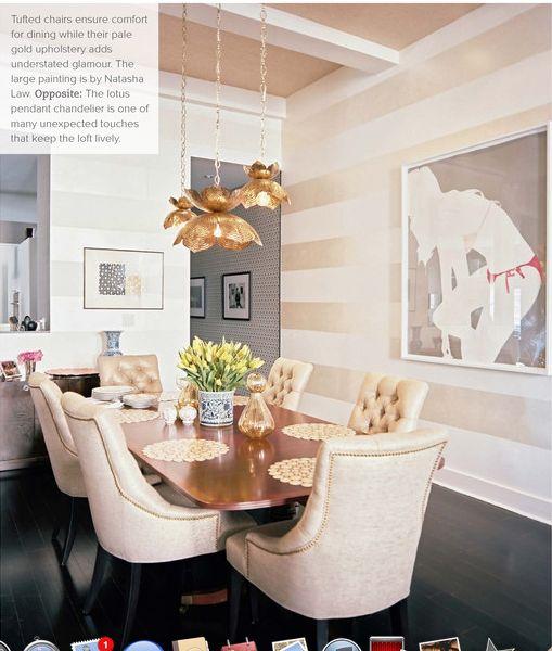lotus lamp dining room