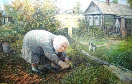 Дед да баба художника Леонида Баранова | Православие и мир