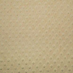 Acheter tissu minky tout doux beige