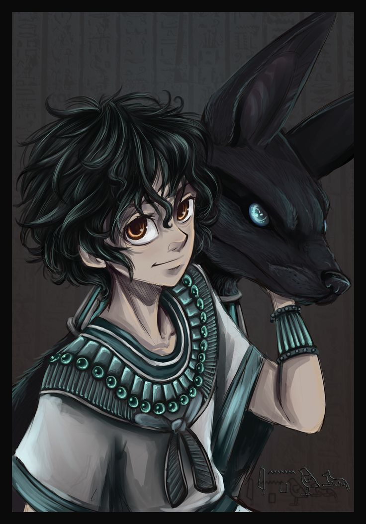 Anubis! Oh gosh he has to be one of my fav characters from Kane Chronicles!