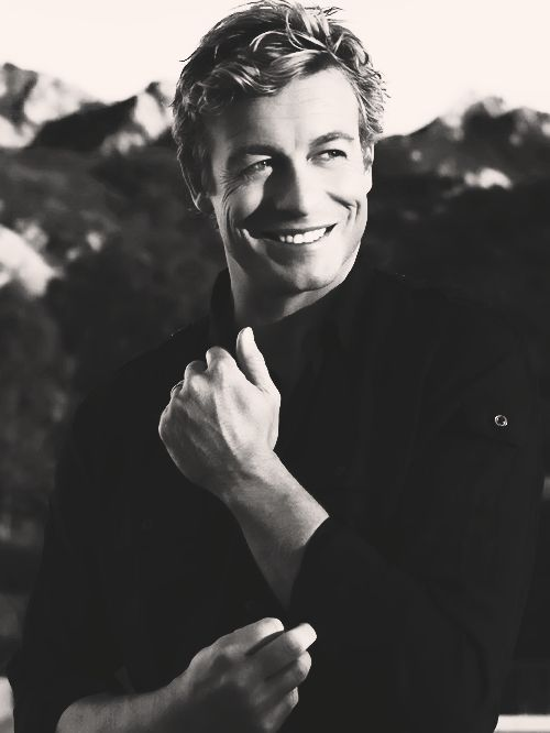 Simon Baker...... love his smile