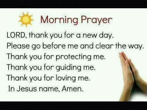Pictures of Good Morning Images With Prayers Quotes - #rock-cafe