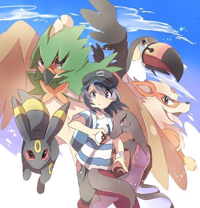 What Pokémon were on your team throughout your Alola Region Journey ?   My team : Decidueye , Toucannon, Salazzle, Vikavolt, Kommo-o and Crabominable #WorldOfAsh #PokemonGO #Pokemon    Visit us: http://worldofash.com/