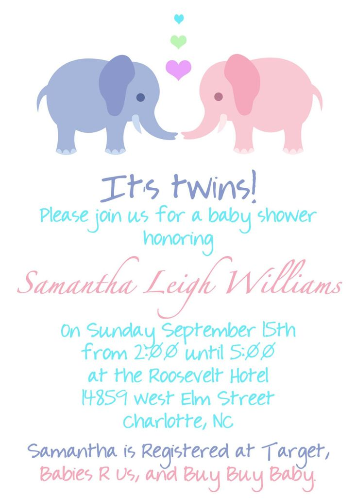 best very best twin baby shower invitations ideas images on, Baby shower invitation