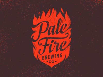 Pale Fire Brewing Identity by Emrich Co