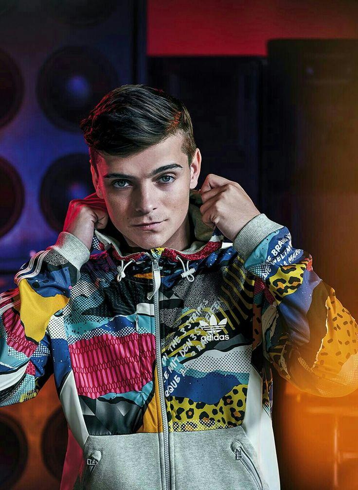 #martingarrix +× Shooting for Adidas Original! Pure love