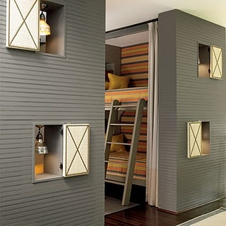 Love these bunk beds... so unique