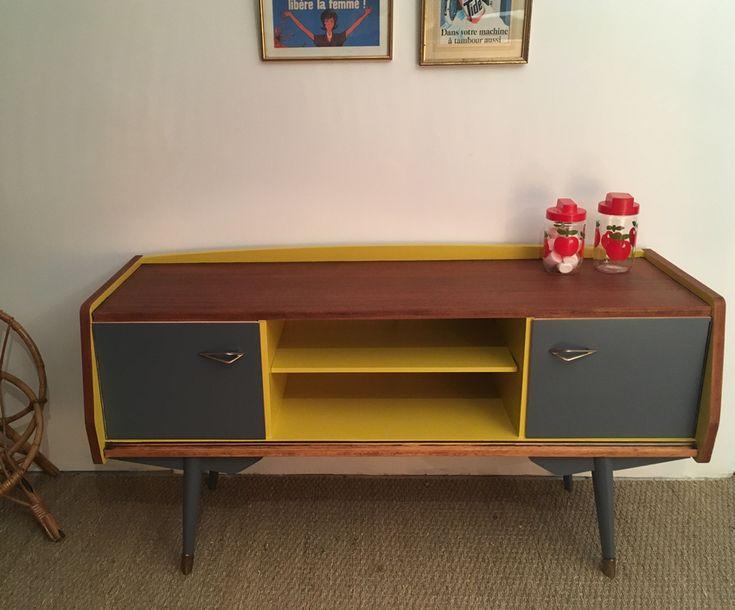 Les 888 meilleures images propos de relooking meubles sur pinterest vaiss - Relooking meuble vintage ...