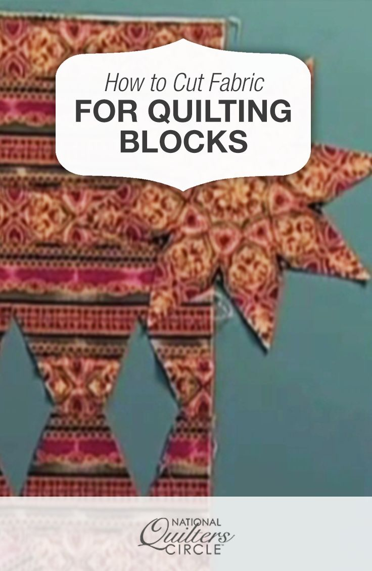 How to Cut Fabric for Quilting Blocks