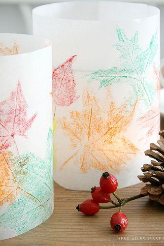 Kleine Herbstbastelei by herz-allerliebst, via Flickr