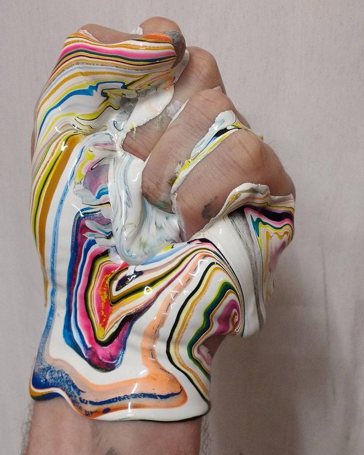 #200  'This world is but a canvas to our imagination' - Henry David Thoreau  #dericksmith #studio #process #dublin #modernart #contemporaryart #paint #painting #colourstudy #fineart #art #colourful #flow #melt #drip #peinture #blend #acrylic #thoreau #imagination  #gratitude #love