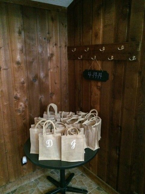 Wedding Gift Bags Nz : Gift bags my wedding Pinterest