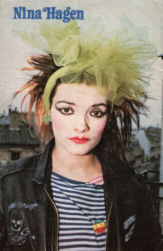Nina Hagen 1981  Princess!!