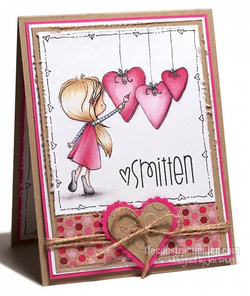 <3: Copic Cards, Tiddly Inks, Stamped Cards, Valentines, Paper Crafts Cards, Card Ideas, Valentine S, Card Inspiration