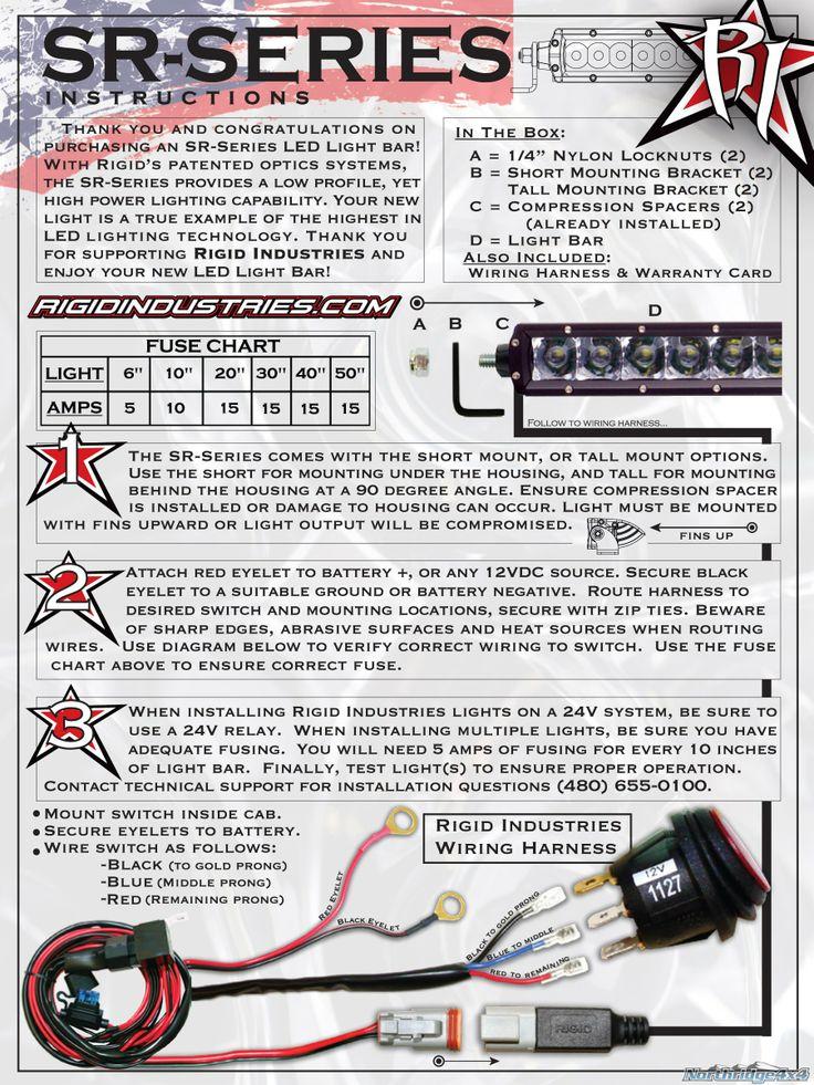 Rigid Led Light Bar Wiring Diagram : Rigid industries light bar wiring diagram efcaviation