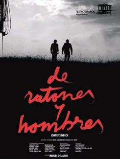 De ratones y hombres @ Teatro Principal - Ourense escena escea Steinbeck